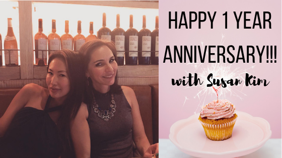 Happy 1 Year Anniversary with Susan Kim!!!!!